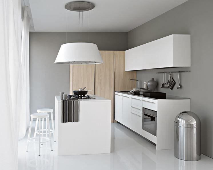 cappa per cucina a isola elmar playground   interiors: kitchens ... - Cappe Cucina Moderne