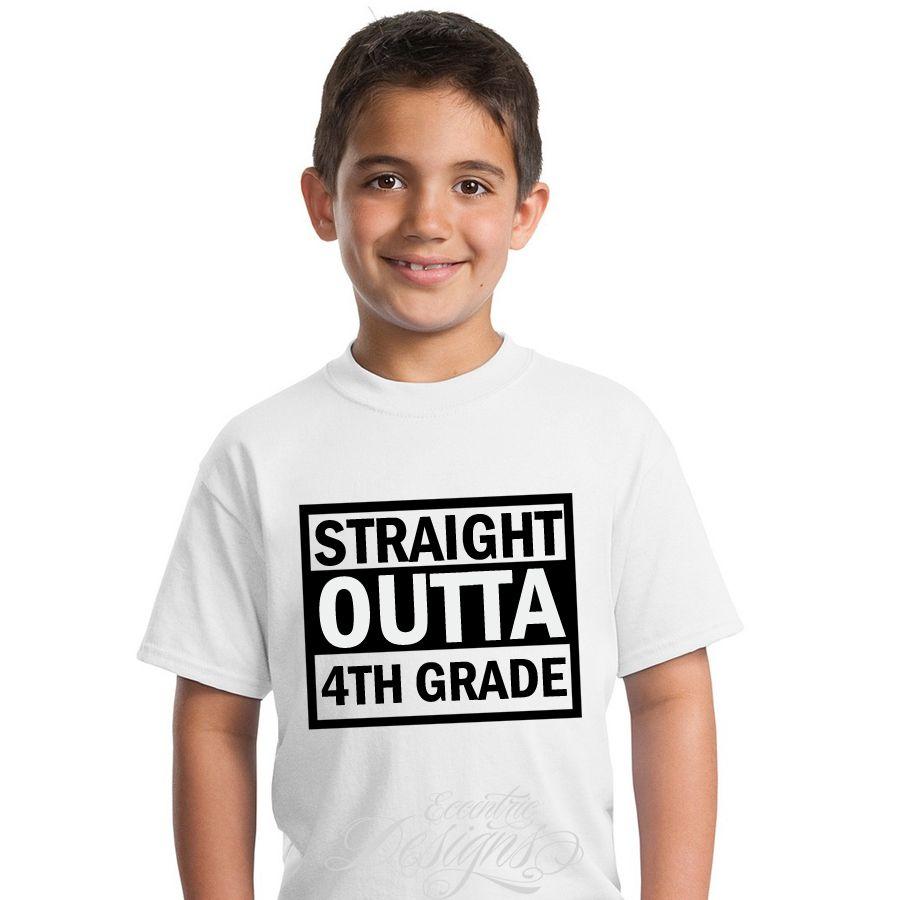 Straight Outta Graduation TShirt Design / Digital Iron