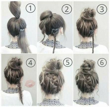 Hairstyles For Work Updo Makeup Tutorials 64 Best Ideas Medium Hair Styles Easy Hairstyles Work Hairstyles