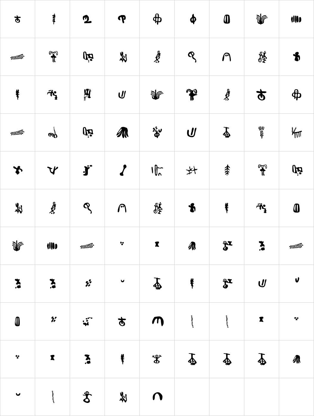 Inga Stone Signs Font Image Script fonts download, Free