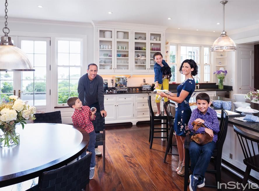 At Home With Jessica Seinfeld With Images Hamptons House