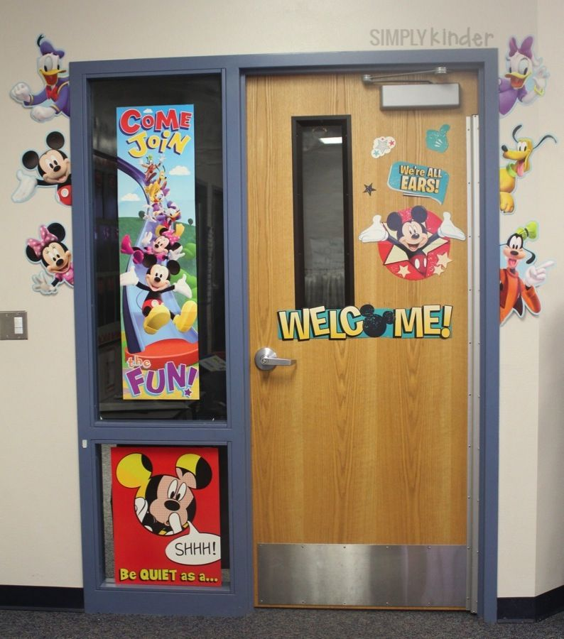 Classroom Decorations Disney : Disney classroom decor mickey mouse