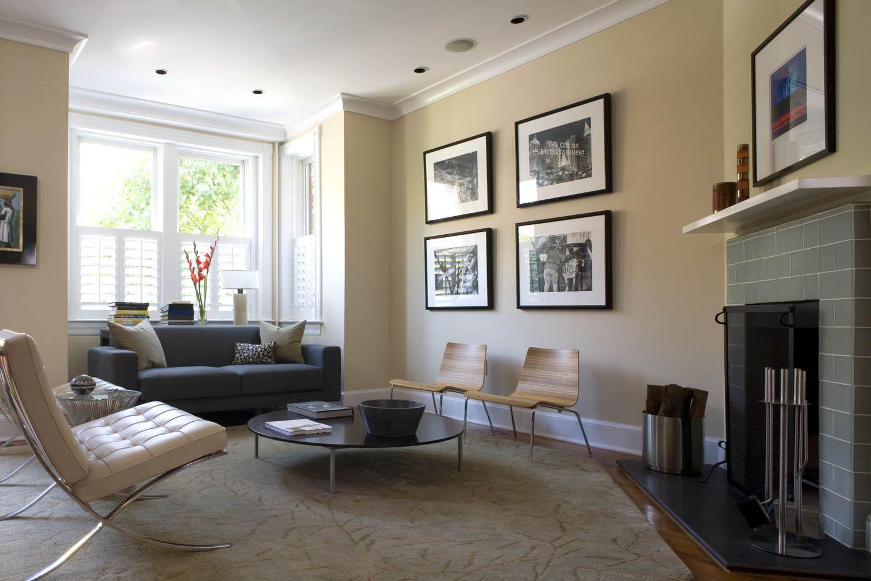 Barcelona chair and ottoman Living room lovely Pinterest