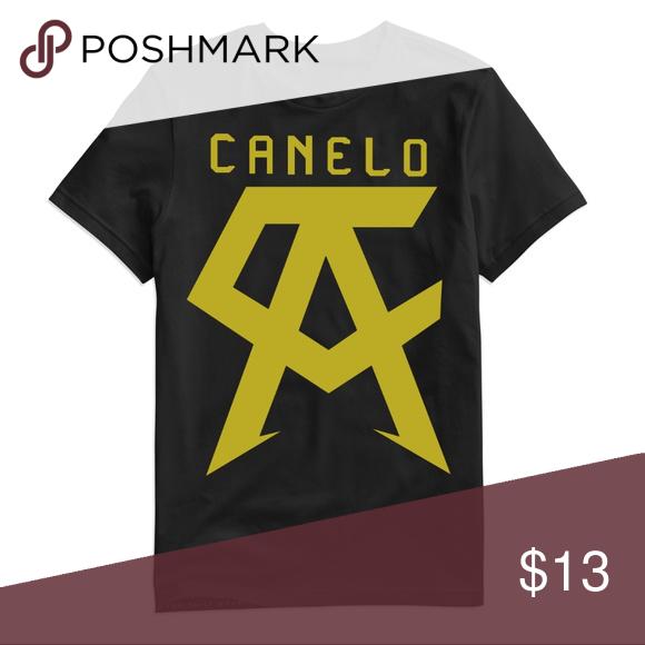 Saul Canelo Alvarez Logo T Shirt El Canelo Boxing Boxing T Shirts Tshirt Logo Shirts