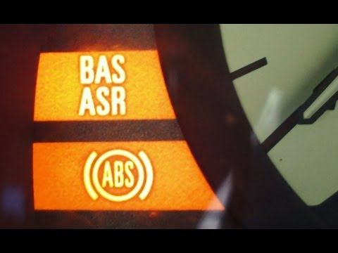 How To Solve The Abs Bas Asr Problem On Mercedes C Class W202 This