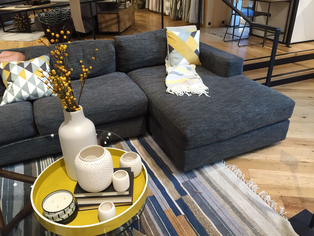 Urban Collection West Elm Right Sofa Chaise 1099 3 Seat Sofa Left