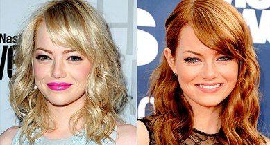 Hairobert Emma Stone S Signature Copper Red Hair Hollywood Hair Emma Stone Blonde Hair Color Formulas