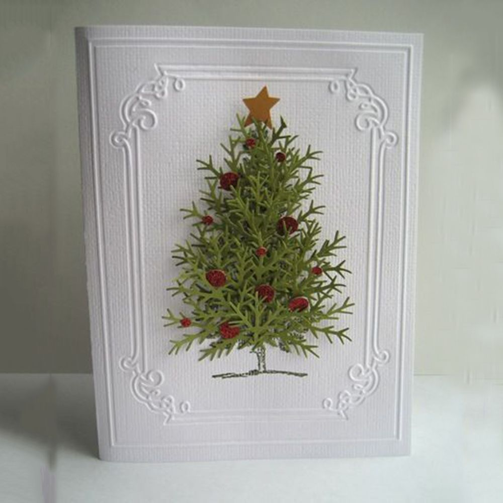 DIY Metal Cutting Dies Stencil Scrapbooking Paper Card Embossing Christmas Decor