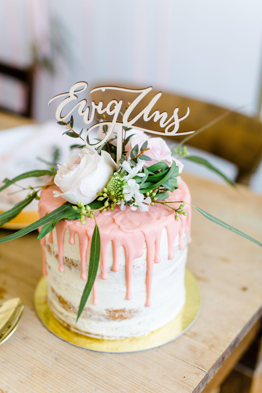 Cake Topper Und Tortenfigur Ewig Uns Fur Hochzeit Cake Yummy