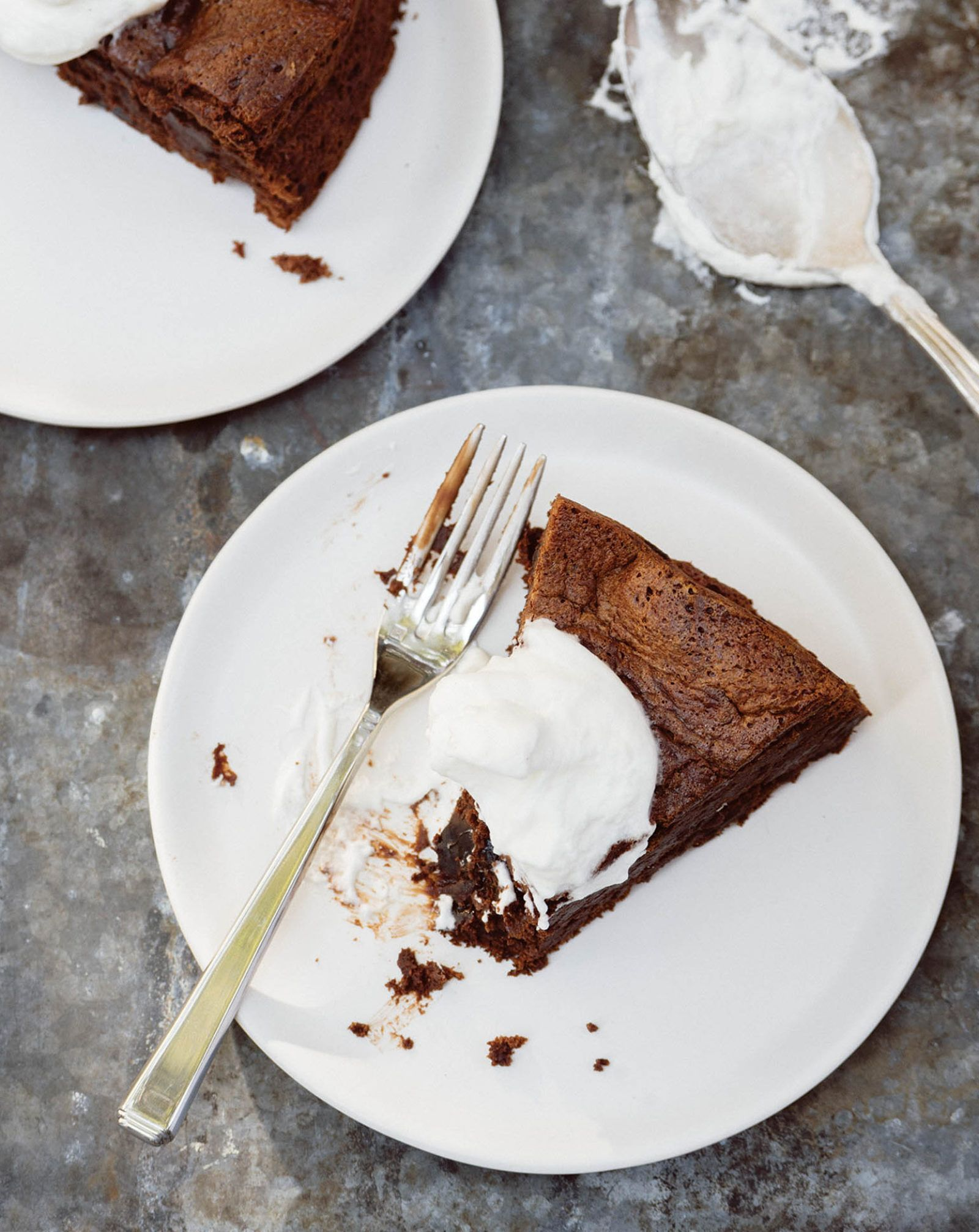 we were smitten with claire ptaks chocolate prune and whiskey cake but when we got the recipe back to milk street we knew we needed to make adjustments