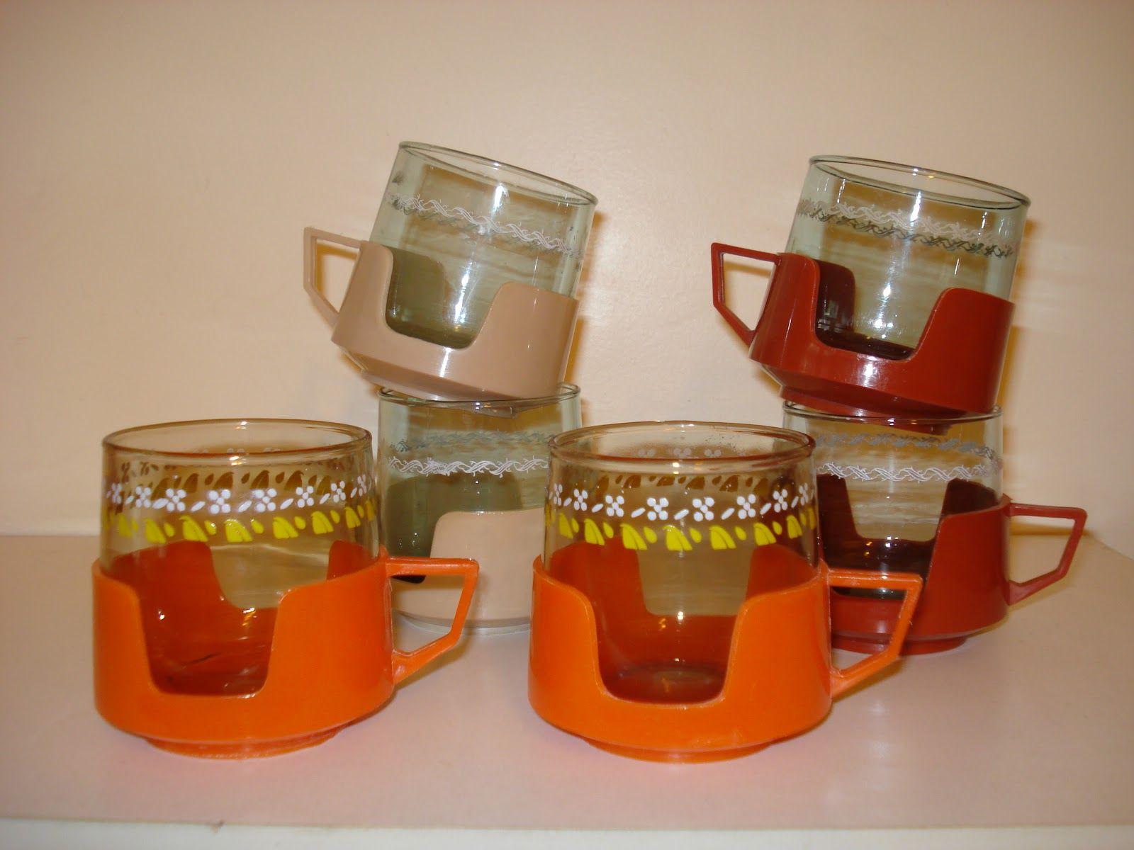 Tacitas de café años 60.