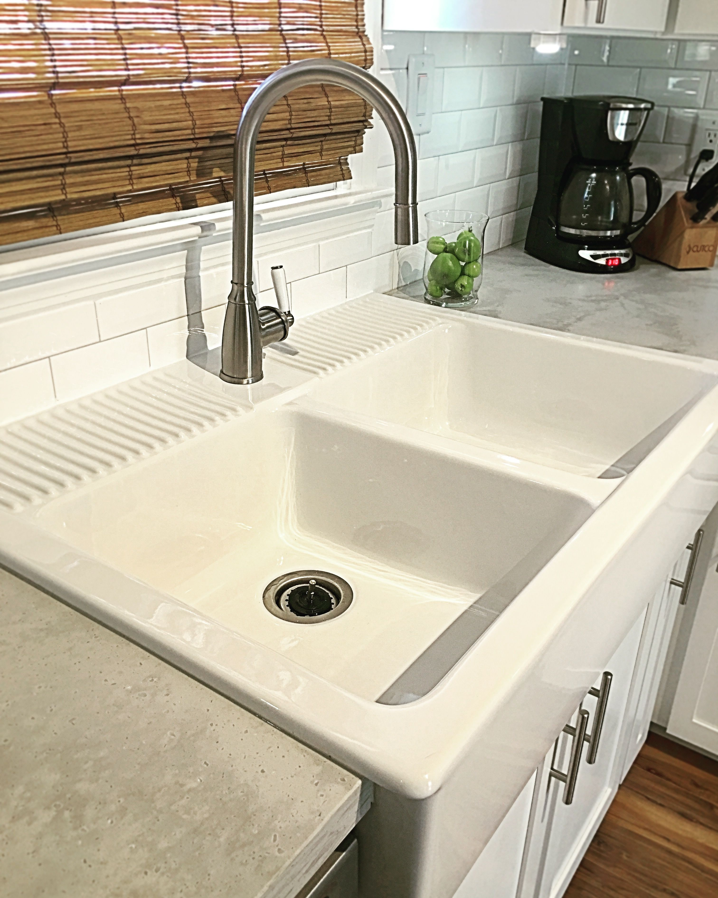 Ikea Farmsink And Faucet, Staron Solid Surface Countertops