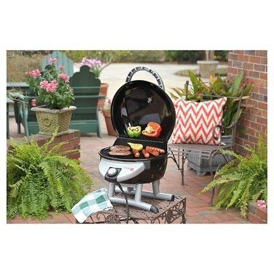 Char Broil Tru Infrared Electric Patio Bistro Tabletop Grill, Black