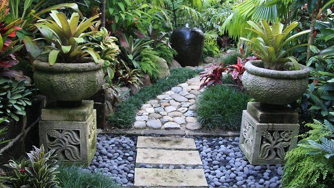 tropical gardens gardening how to pick the right garden path for your needs