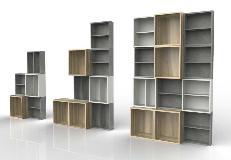 37 Idees D Etagere Et Bibliotheque Modulable Bibliotheque Modulable Decoration Maison Idee Bibliotheque