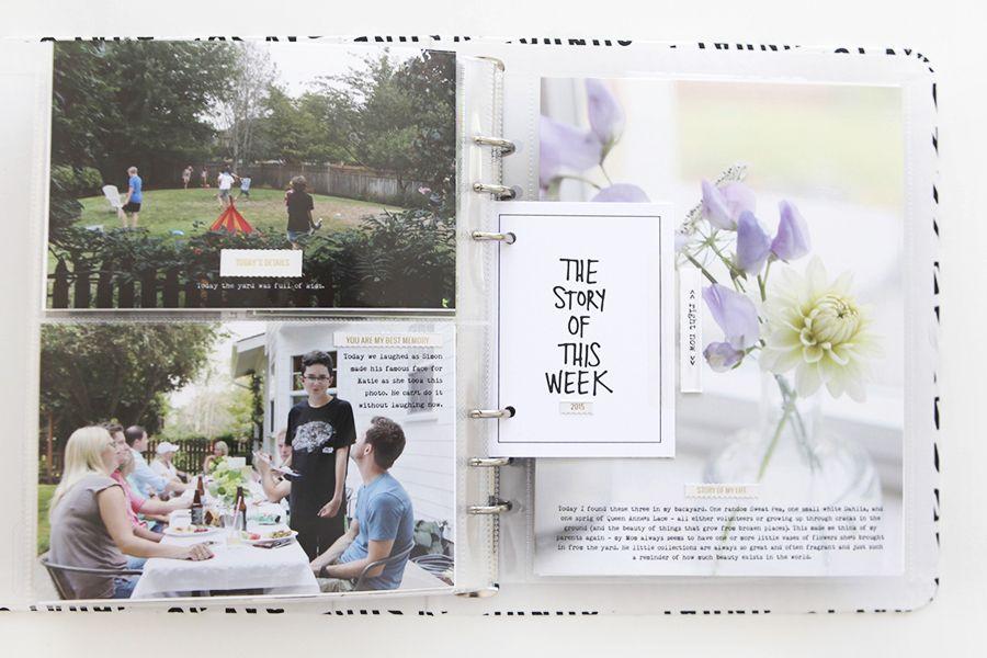 Ali Edwards | Blog: Week In The Life™ 2015 | Sunday In Album