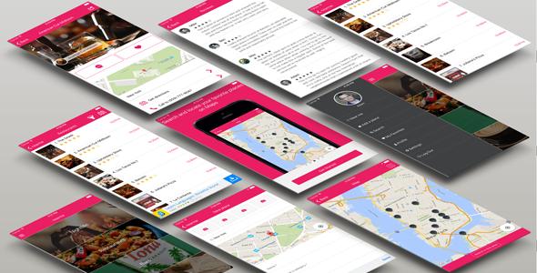 nearme Starter for your own location based app App