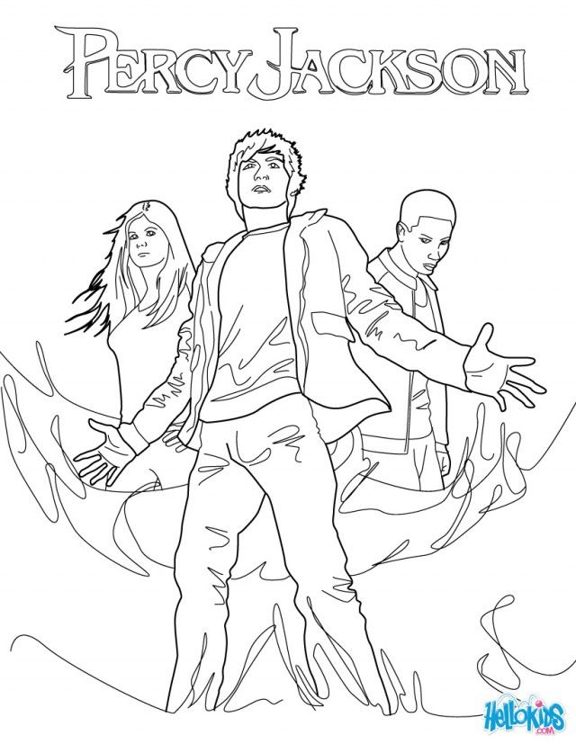 Percy Jackson Coloring Pages : percy, jackson, coloring, pages, Percy, Jackson, Coloring, Pages, Print, Enjoy, Books,, Jackson,