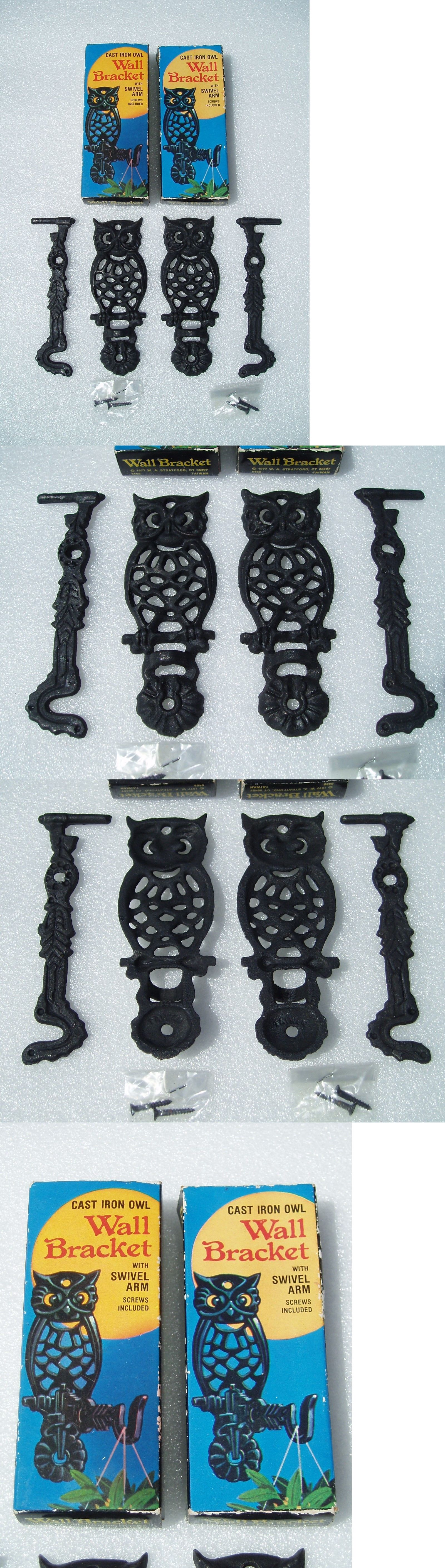 Plant Hooks and Hangers 134671: 2 Owl Cast Iron Wall ... on home depot outdoor plants, home depot boot scrapers, home depot garden center plants, home depot pet supplies, home depot plants names, home depot garden accents, home depot bells, home depot clothing, home depot holiday decor, home depot artificial plants, home depot hoses, home depot hide a key, wire pot hangers, home depot plate holders, home depot cupolas, home depot bowls, home depot paper towel holders, home depot indoor plants, home depot crafts, home depot book ends,