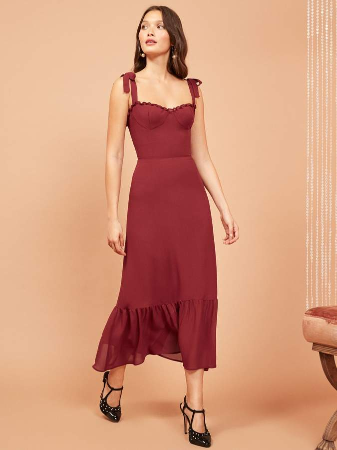 48d3df8585d8 Reformation Nikita Dress