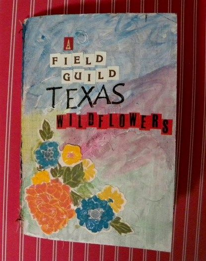 A Field guide to Texas Wildflowers~ Scrapbook with photos and facts about Texas Wildflowers