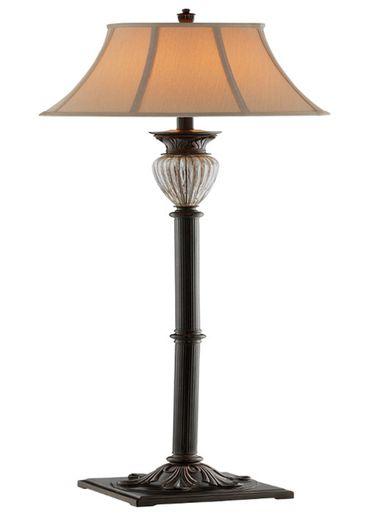 Tempe Resin Floor Lamp Floor Lamp Crackle Glass Lighting