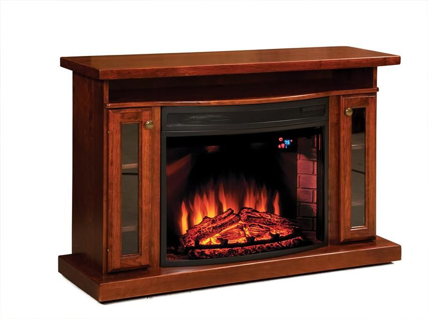 Amish 49 Quot Electric Fireplace Tv Stand Electric Fireplace