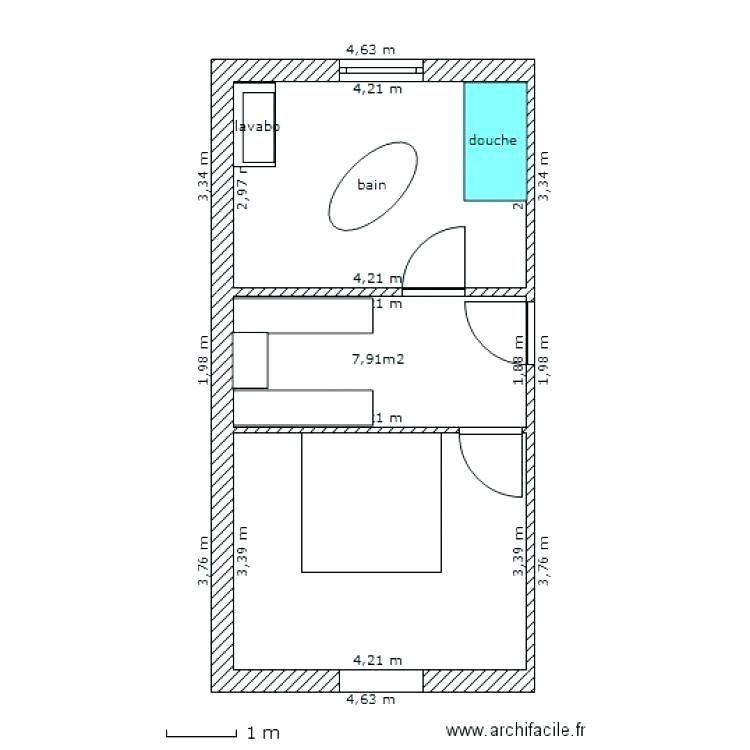 Kesr Plan Chambre Avec Salle De Bain