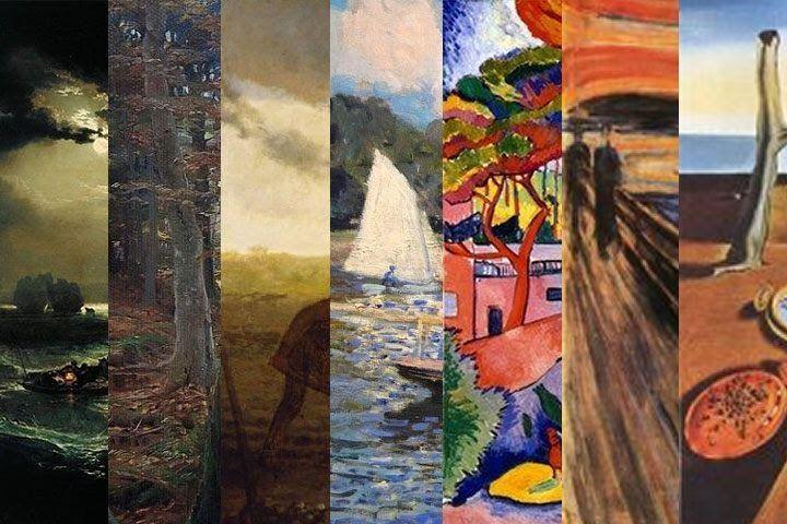 13 Lukisan Pemandangan Alam Termasuk Kelompok Aliran Aliran Seni Lukis Penjelasan Lengkap Ciri Tokoh Contoh Paintings Desk Pt Primas Di 2020 Lukisan Seni Origami Seni