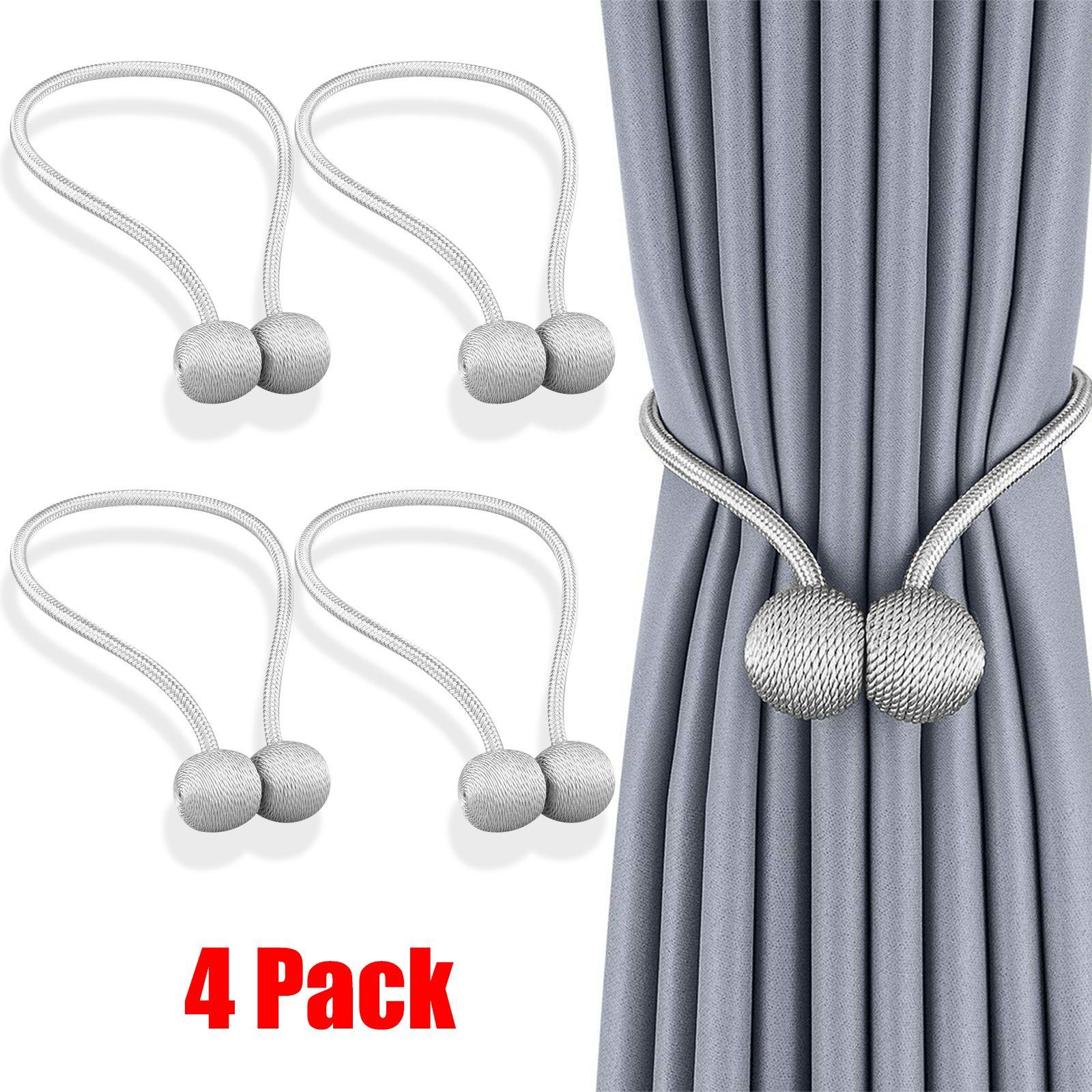 Eeekit Magnetic Curtain Tiebacks 8pcs