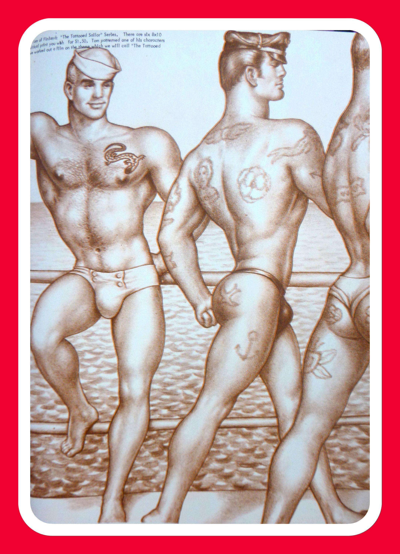 Erotic male nude ecards