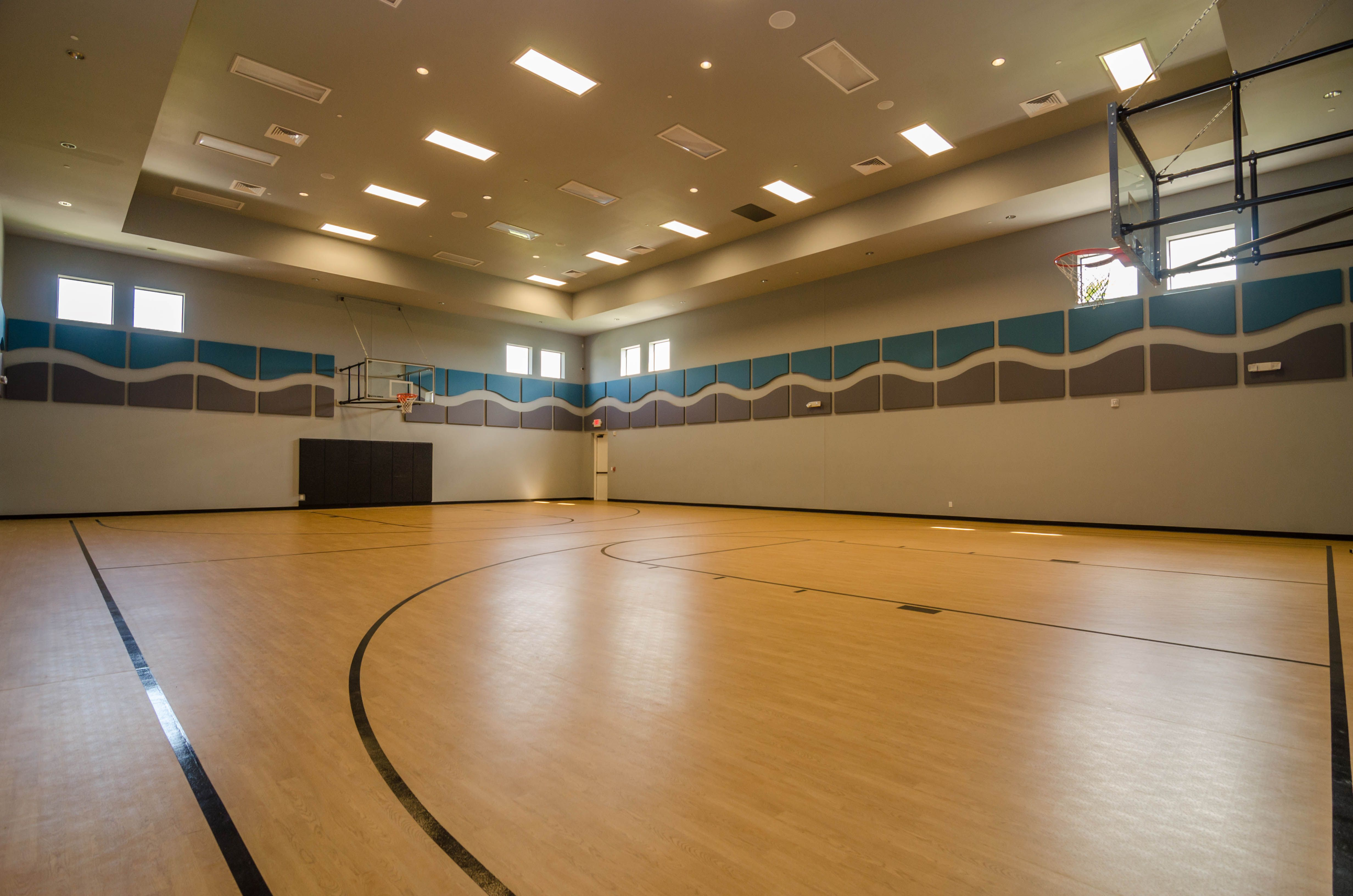 Community Indoor Basketball Court Indoor basketball