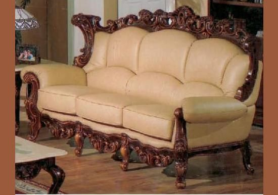Sofa Pillows Exquisite Victorian Style Leather Sofas