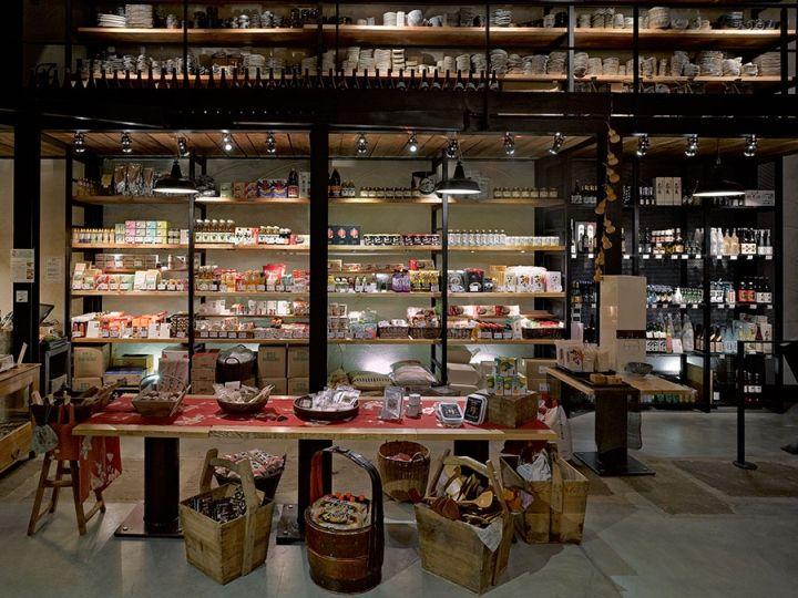 yojisu restaurant grocery and coffee shop aix les milles france store design pinterest. Black Bedroom Furniture Sets. Home Design Ideas