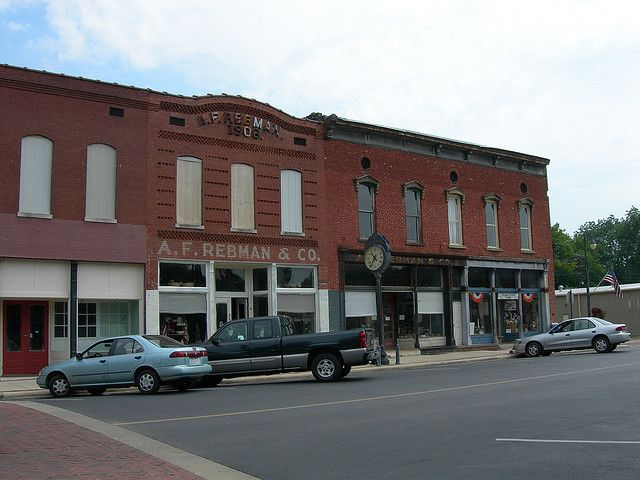 Historic Downtown Courtland Alabama   National register of ...