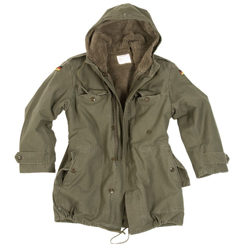 Details about German Army Classic Parka Military Combat Mens ...