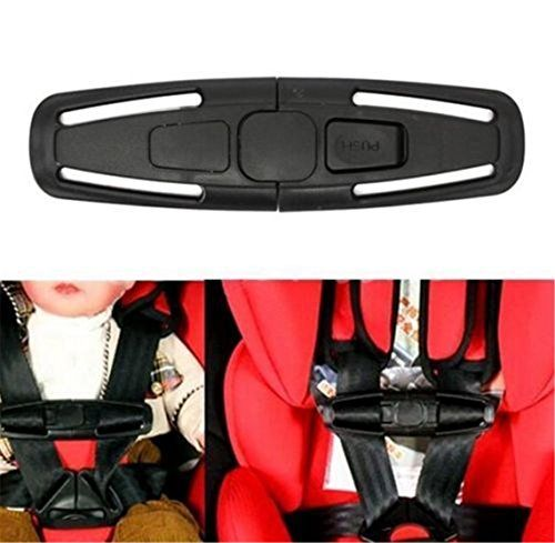 OrliverHL Car Seat Safety Strap Baby Belt Buckle Harness Chest Clip Child Kids Safe Lock Click Image For More Details This Is An Affiliate Link