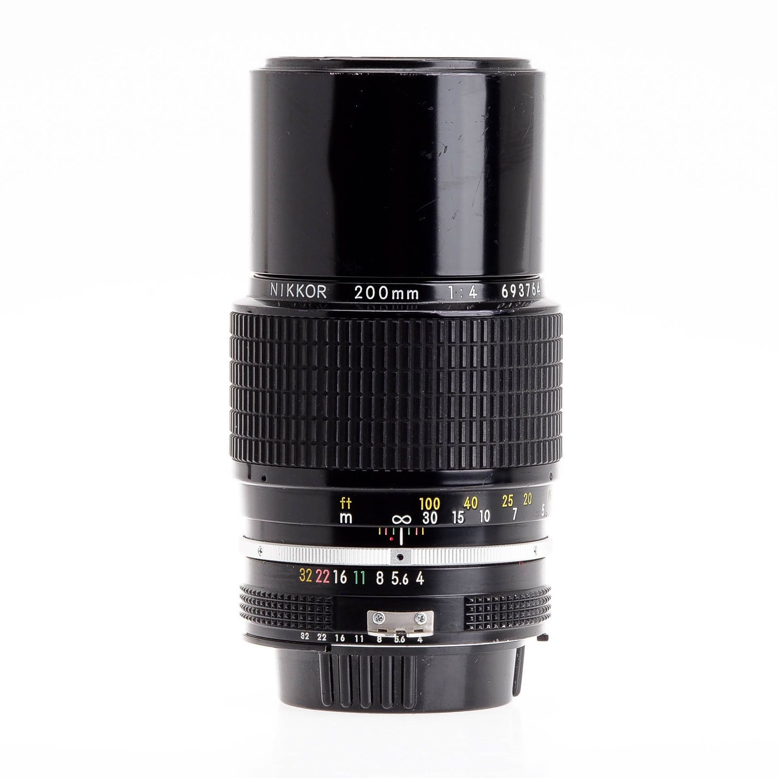 Nikon Nikkor 200mm F4 AI Manual Focus Telephoto Lens