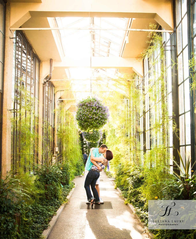 Jen & Brad Juliana Laury Photography Longwood gardens