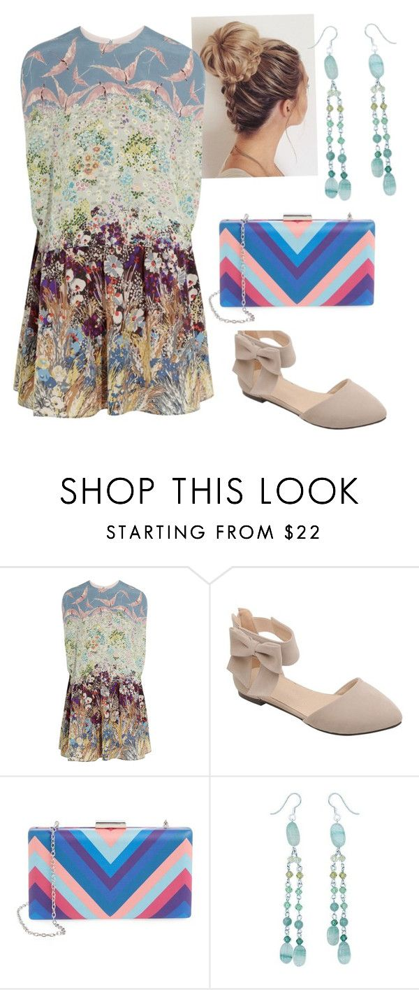 """Sem título #69"" by re-raposo ❤ liked on Polyvore featuring Valentino, La Regale and NOVICA"