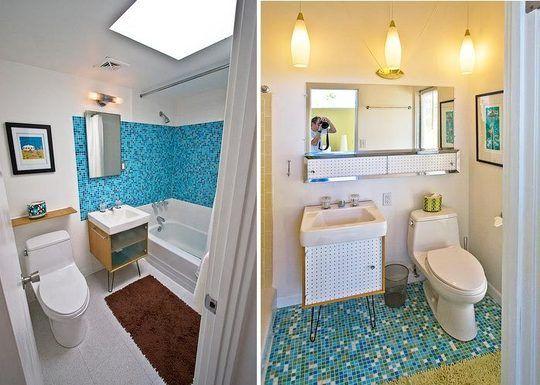 Look An Inside Peek Back At Palm Springs Bathroom Design Mid Century Bathroom Palm Springs