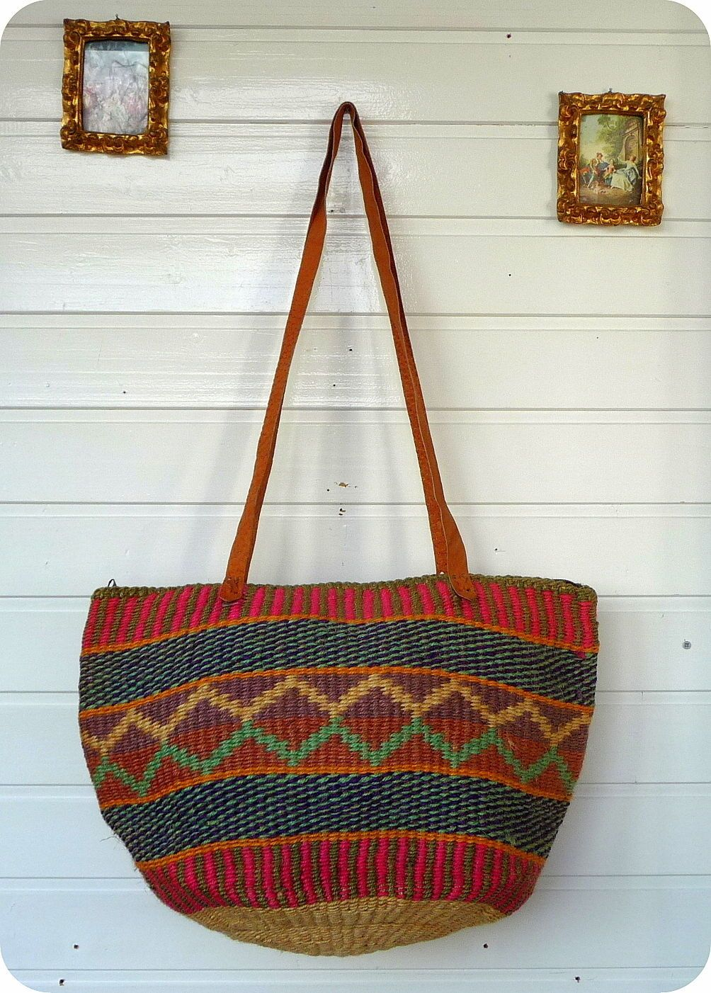 details zu vintage leder tasche bag handtasche boho hippie folklore schultertasche handmade. Black Bedroom Furniture Sets. Home Design Ideas