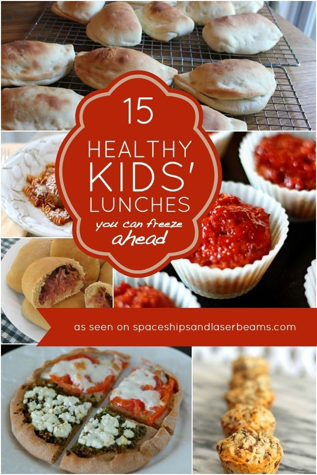 15 Healthy Kids' Lunches You Can Freeze Ahead of Time