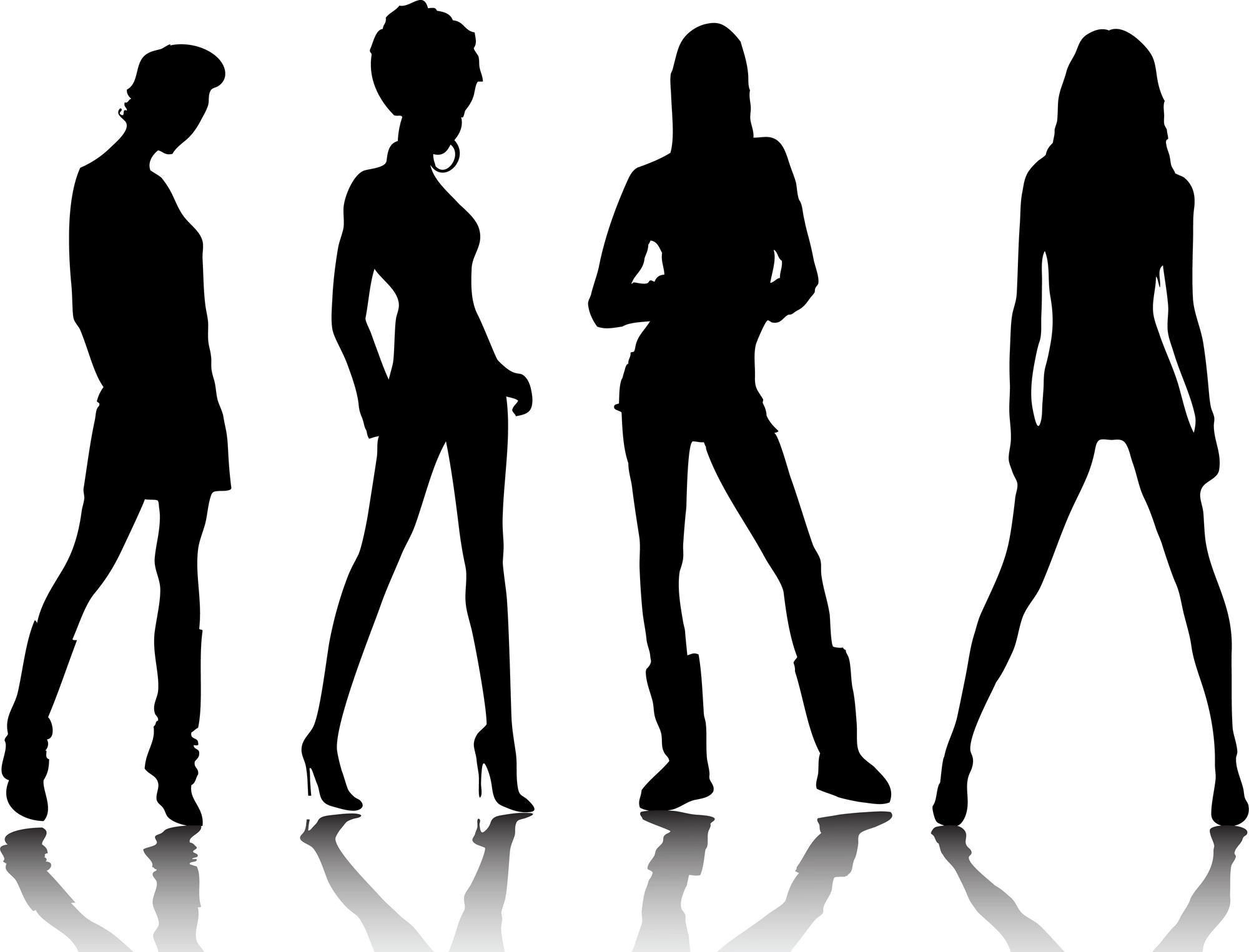 fashion silhouette description - HD2000×1525