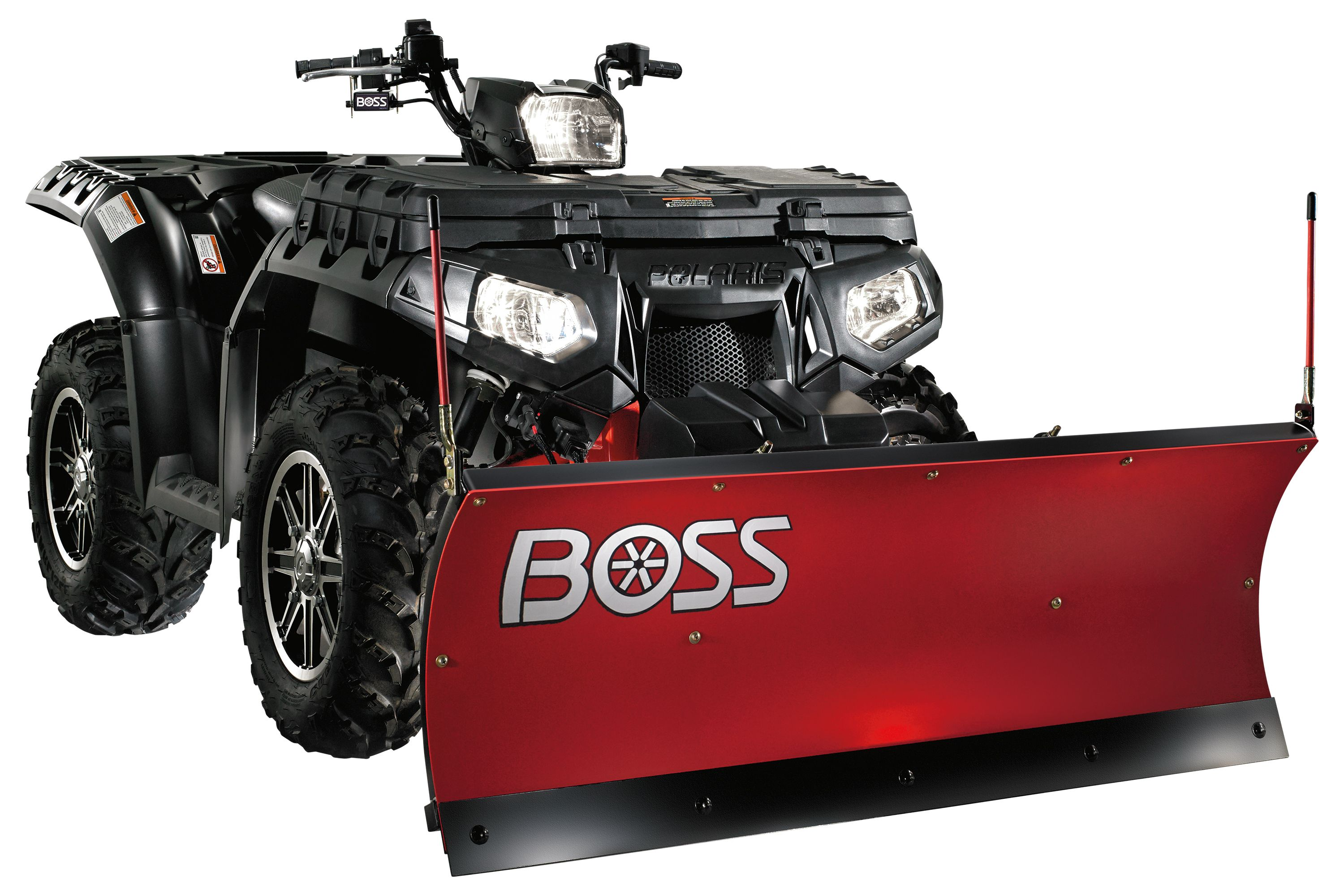 Atv Boss Snow Plows 4 5 Snow Plow Atv Diesel Trucks