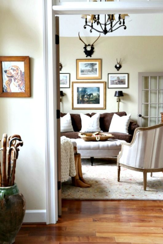 When A Chair Is Too Small French Country Living Room Collected Casual