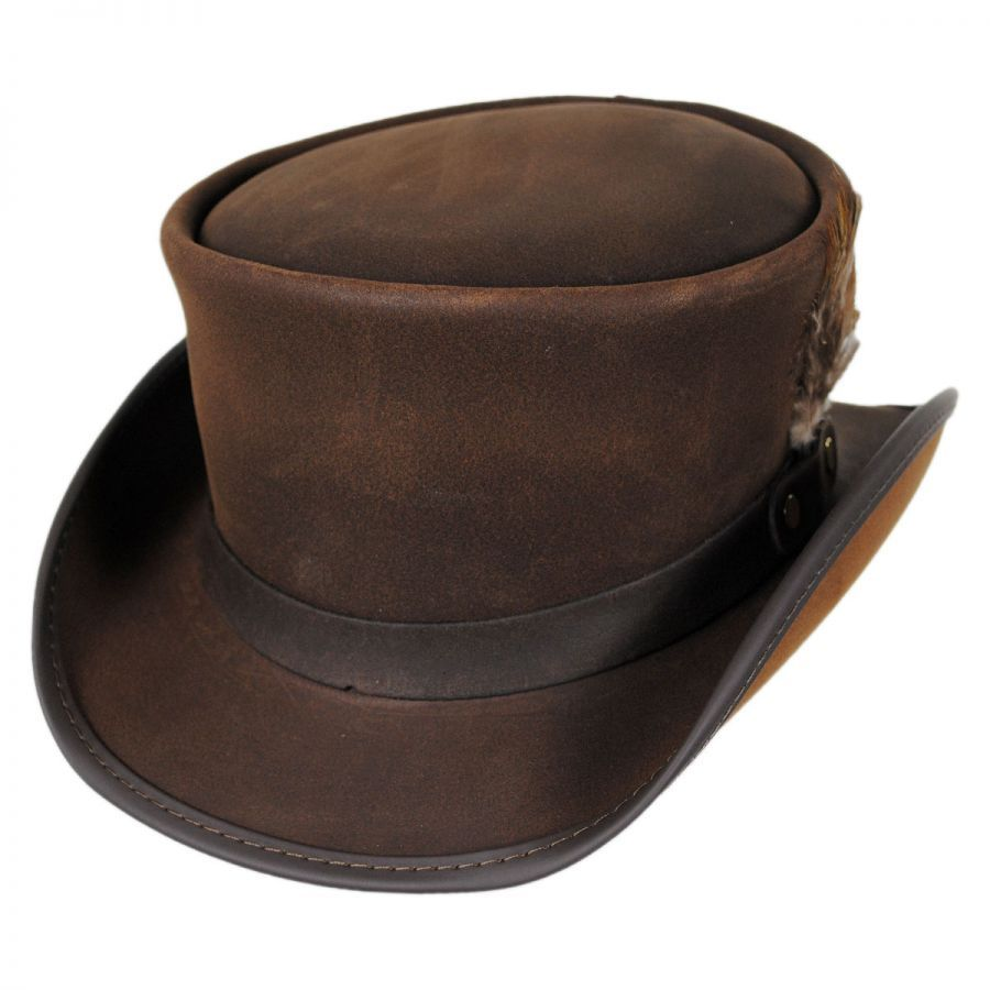Marlow Leather Top Hat  b3275651e91c
