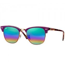 Ray Ban Clubmaster Mineral Flash Lenses Rb3016 Sunglasses