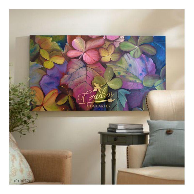 Flores Y Hojas Secas Cuadros Decorativos Al óleo En 2019