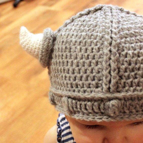 Crochet Pattern - Lael Viking Hat | Crochet patrones, Recién nacidos ...